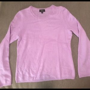 Charter Club 100% Cashmere Sweater - Lilac size M